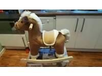 Bnib mamas and papas topaz rocking horse.