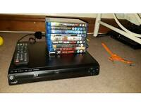 Blueray dvd player with blueray dvds