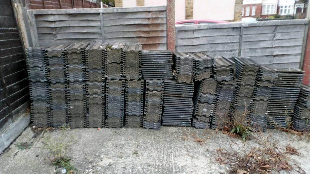 Marley grey tiles £250