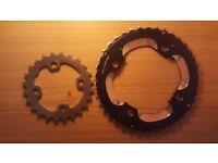 Shimano XT 2x Chainrings