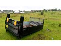 Steel body for sale with tail lift