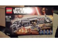 star wars lego resistance troop transporter £25
