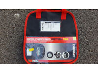 NEW snow chains - universal 9mm - fits many car tyres