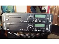 Numark mp102-mp3 cd players-professional x2
