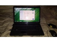 Acer laptop,amd dualcore,3 gig ram,windows 7,In Torquay!