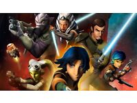 Wanted star wars rebels art for sons bed