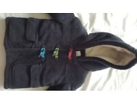 Brand new with tags Debenhams fleece lined coat 9 - 12 months