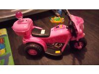 Pink Police bike