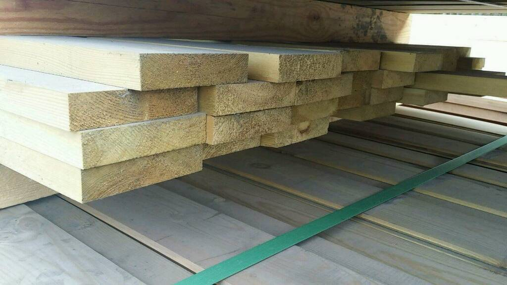 4x1 Planed Tanalised Timber (95mm x 21mm) 3.9mtr Lengths