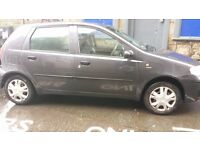 2005 Fiat Punto, with 1 year MOT, for sale