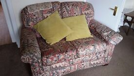 2 x 2 seater couch/sofas - free !