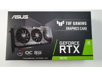 Nvidia RTX 3070 ASUS TUF OC 8GB (SEALED)