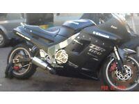 kawazaki zzr 1100 1991 streetfighter