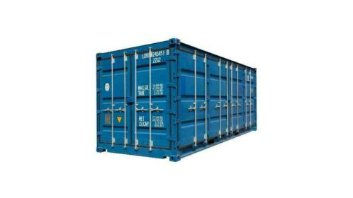 Nieuwe 20FT Full Side Access Container
