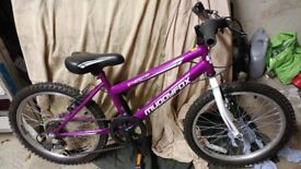 """Brand new girls muddyfox 20"""" bike"""