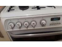 Fully working double oven gas cooker