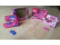 Girls/kids sewing machine