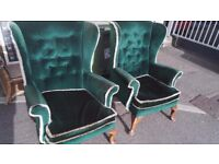 2x chairs can be delivered in Exeter