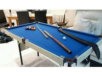 American -style pool table