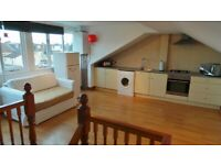 Prime Location Immaculate condition 2 bedrooms first floor maisonette with Driveway--- No DSS please