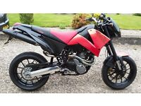 Exellent condition very low milage swap exchange KTM DUKE 2006