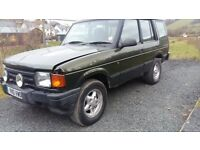 breaking green land rover discovery 300 tdi manual lwb 4x4 parts spares
