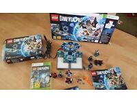 Lego dimensions starter pack for x box 360. All Bits in Box included. mint new