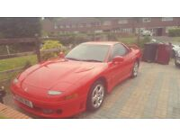 Lovely Original Mitsubishi GTO in Ferrari Red NON-TURBO 12 months MOT