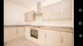 Luxury 1 bed flat - new build, built in fridge, washing machine and oven