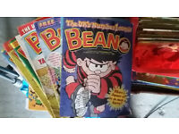Beanos / Beano comics from 1990's to early 2000's: 5 for £3
