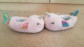 Girl's slippers size 10 for sale