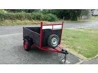 5ft7inch bye 3 ft7 inch car trailer