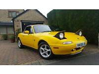 Mazda Eunos mx5 import 86k! Respray, STUNNING! Need gone this week!
