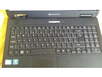 Laptop packard bell easy note th 36