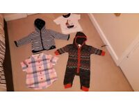 A bundle of Baby Boys Mixed Clothes (4 items ranging from 0 months to 12 months)