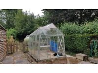 8ft x 6ft Greenhouse (plus free water butts if you want)
