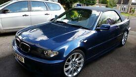 BMW 320 M sport Convertable