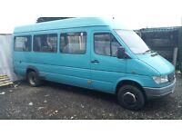 Mercedes Sprinter 412d Mini bus 9 seats 1999 year Automatic