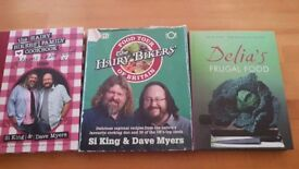 Hairy Biker and Delia cook books