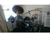 Drum kit, hardware,iron cobra double bass pedal