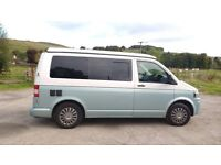 T5 VW Campervan 2012 2.0L diesel . 4 berth pop top. Newly converted retro style look with mod cons!