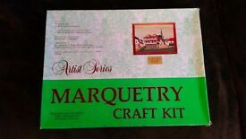 Marquetry craft kit of Guildhall Thaxted