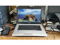 Toshiba satellite pro l45od windows 7 120g hard drive 3g memory webcam wifi dvd drive