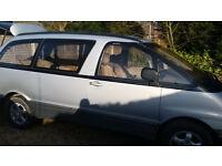 1993 TOYOTA ESTIMA EMINA LUCIDA / G SPEC VERY / RARE 5 SPEED MANUAL / 2WD / CAPTAIN SEATS / 1YR MOT/