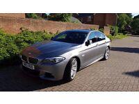 "Excellent condition BMW 520d M SPORT with extras (19"" alloys + massive professional navigation unit)"