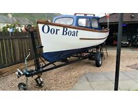 Fishing/Leisure Boat for sale - ready to use - including trailer - REDUCED