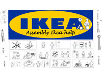 FURNITURE ASSEMBLY - FLAT PACK - ASSEMBLY - IKEA - HELP - ( Very cheap )