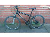 Adults Apollo xc26 mountain bike 17 inch very light aluminium frame and ready to ride