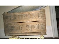 Old Wooden Crate £8.00