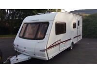 Swift 2005 4 berth clean family caravan with end shut off wash room